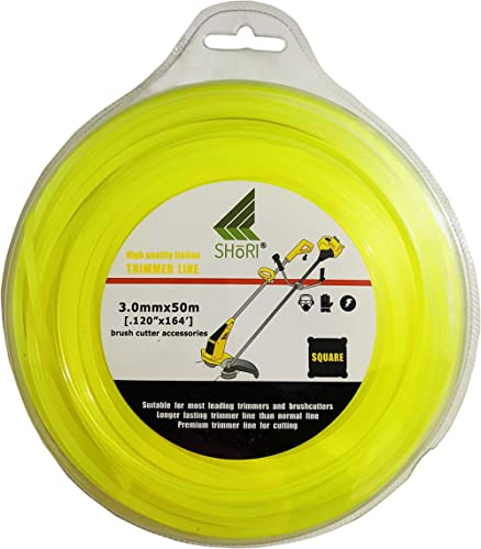 Vasista Nylon Trimmer Line/Wire For Brush Cutter Trimmer,Yellow