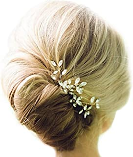 Venusvi Wedding Hair Pin Decorative hair accessories for Bridal(Pack of two)