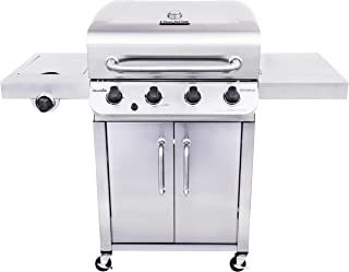 Char-Broil 463375919 Performance Stainless Steel 4-Burner Cabinet Style Liquid Propane Gas Grill
