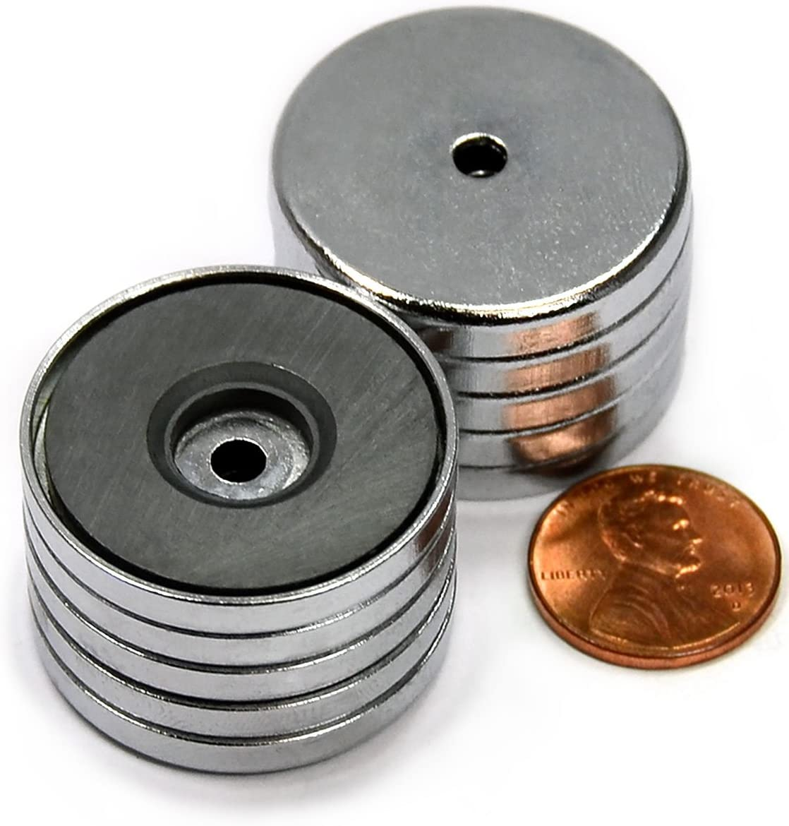 CMS Magnetics Max 52% OFF Round Base Magnet 1.26