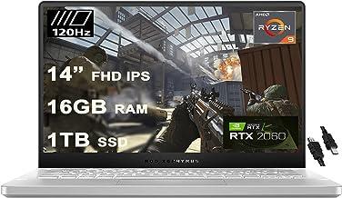 "2020 Flagship Asus ROG Zephyrus G14 VR Ready Gaming Laptop 14"" FHD 120Hz AMD 8-Core Ryzen 9 4900HS (>I7 10750H) 16GB RAM 1..."