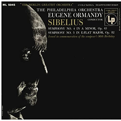 Sibelius: Symphonies Nos. 4 & 5 (Remastered)