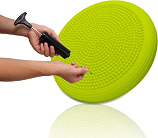 DEVEBOR Balance Board Kids Wiggle Seat ,Balance Disc for Workout,  Therapy,  Fitness and Training Exercise