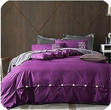 Minimalist Pure Style Home Textiles Bedding Set Bed Linen Set Duvet Cover