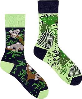 Casual Unisex - Calcetines multicolores y coloridos para individualistas.
