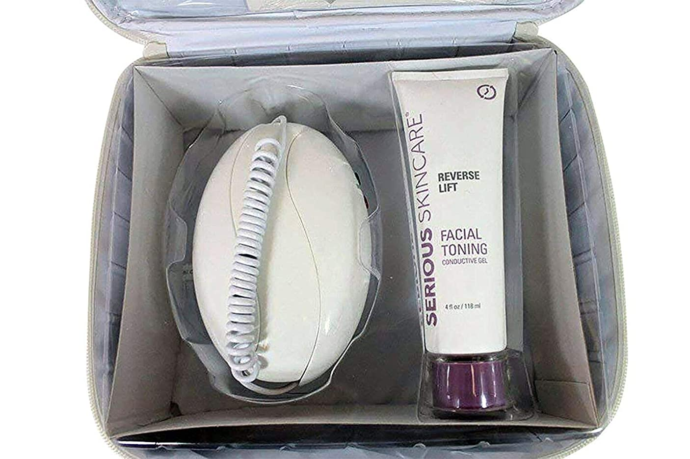 平らな製品広げるMicrocurrent Skin Care Kit, High Frequency Facial Machine and Skin Care Products 141[並行輸入]