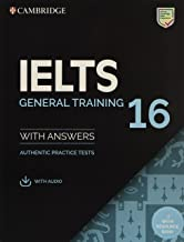 IELTS 16 General Training Student's Book with Answers with Audio with Resource Bank (IELTS Practice Tests)