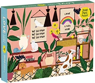 Mudpuppy Anne Bentley Love Lives Here 1000 Piece Puzzle