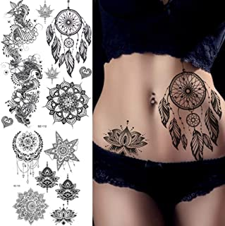 Amazon Fr Tattoo Fleur De Lotus Beauté Et Parfum