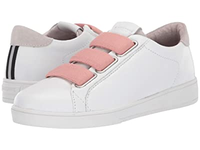 Blackstone Low Sneaker 3 Strap RL82 (White/Rose Dust) Women