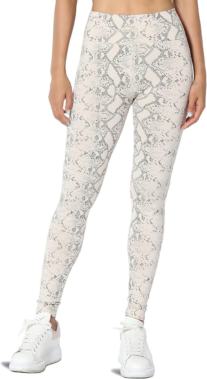 TheMogan S~3X High Waist Fleece Lined Leggings Soft Winter Warm Tummy Control