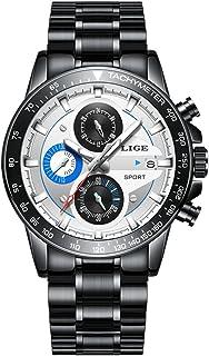 LIGE 9835 Men's Watches Commercial Sports Leisure Fashion Waterproof Quartz Watch