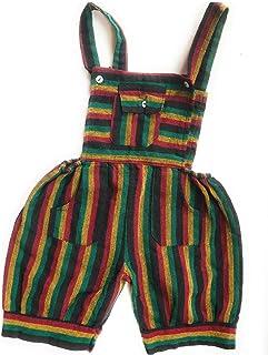 KGM Accessories, Baby Rasta - Mono de algodón hecho a mano