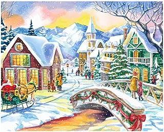 キャンバスアート壁ポスター クリスマスの雪 海报 绘画 帆布艺术 室内装饰 壁挂 墙壁海报 HD时尚海报
