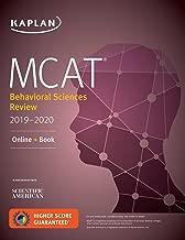 MCAT Behavioral Sciences Review 2019-2020: Online + Book (Kaplan Test Prep)