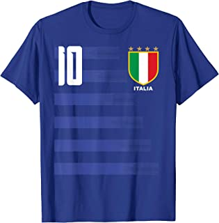 Italia Italiano Italy Calcio Futboll Soccer Jersey Shirt Tee