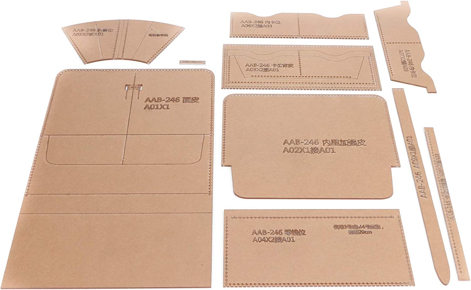 Wallet Max 50% OFF Max 72% OFF Pattern Template Acrylic Stencil Growth Wal Set