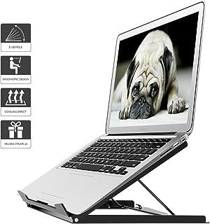 BONTEC Soporte portátil ergónomico Ajustable para computadora portátil y MacBook