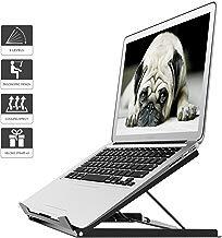 1home Supporto per Notebook Laptop inclinabile Tablet MacBook Pieghevole Ergonomico Stand per PC Portatile Angolo Regolabile Fino a 15 Pollici