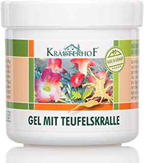 Kräuterhof Devils Claw Gel 8.5oz [German Import]