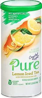 Crystal Light Lemon Iced Tea Drink Mix (5 Pitcher Packets)