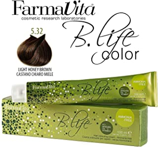 Farmavita Life Color Tinte Capilar sin Amoniaco 5.32-100 ml
