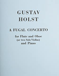 Fugal Concerto Op.40 No.2 (Flute Oboe and Piano)