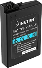 Insten Rechargeable Replacement Battery 1200mAh 3.6V Compatible With Sony PSP 3000 / PSP Slim 2000, Include Model PSP-2001, PSP-3000, PSP-3001, PSP-3002, PSP-3004