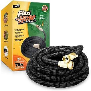 Flexi Hose 75 FT Lightweight Expandable Garden Hose   Ultimate No-Kink Flexibility..