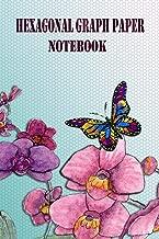 Hexagonal Graph Paper: Notebook