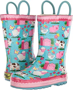 Western Chief Kids - Limited Edition Ee I Ee I Oh Rain Boot (Toddler/Little Kid)