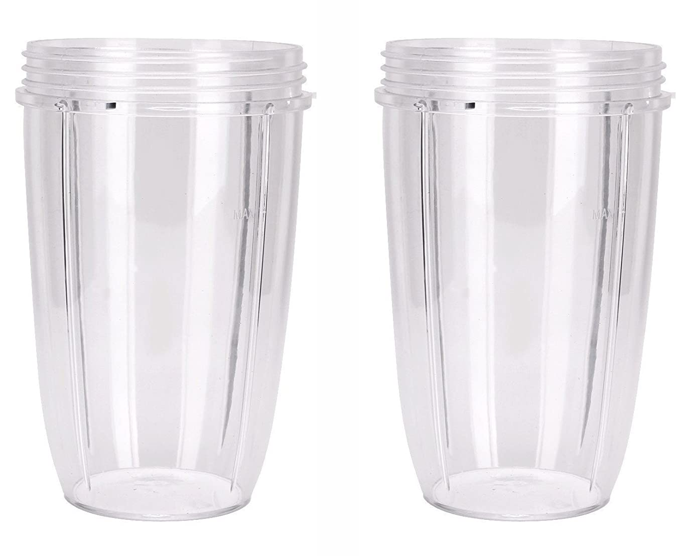 Preferred Parts NutriBullet Replacement Cups (Tall - 24-Once) | Premium NutriBullet Replacement Parts and Accessories (Pack of 2)