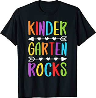 Kindergarten Rocks T-Shirt Back To School Teacher Gift T-Shirt