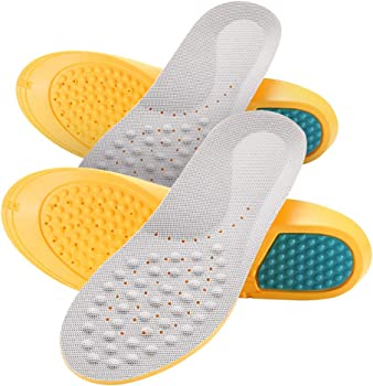 2-Pack Roadbox Unisex Insoles with Shock Cushion