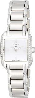 Tissot - Reloj Analógico para Mujer de Cuarzo con Correa en Acero Inoxidable T02.1.385.71