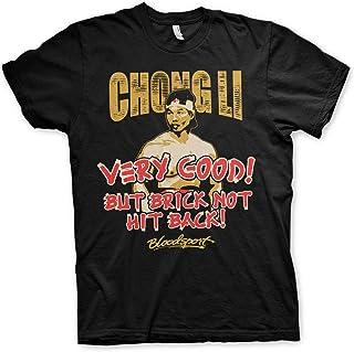 Bloodsport Officially Licensed Chong Li Big & Tall T-Shirt (Black)