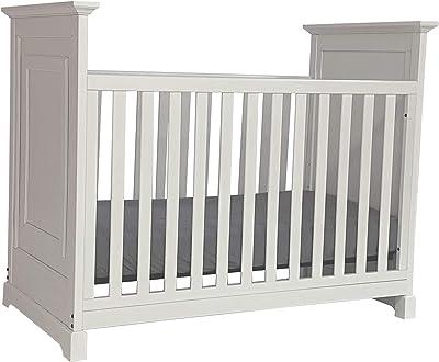 Baby Cache Cape Cod 3-in-1 Convertible Island Baby Crib in White