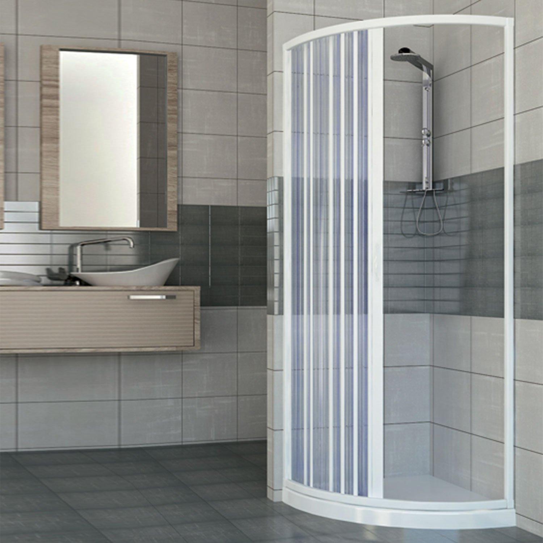 Mampara de ducha de pvc inoxidable redondo cm H Mod. Giove 185 cm: Amazon.es: Bricolaje y herramientas