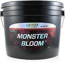 Grotek GTMB6060 Monster Bloom Hydroponic nutrients, 10kg Black