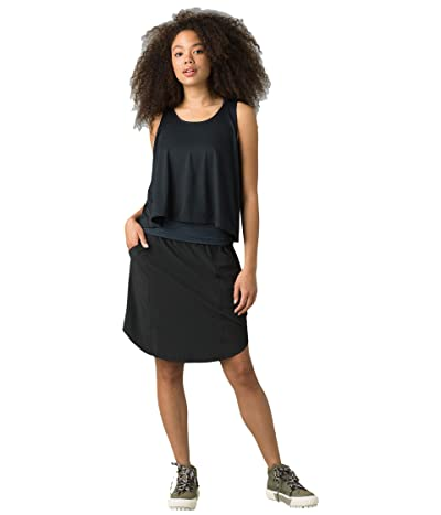 Prana Buffy Skirt (Black) Women