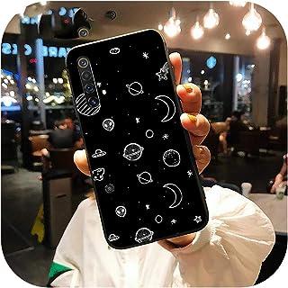 ケースのファッションコックfor OPPORealme X50 C2 X X2 XT 5 Pro 6 Pro Q 3 C3C11電話ケースブラックソフトカバーRealme 5 6 Pro X50 XT-77B25-for Realme X
