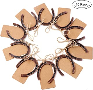 chocolate horseshoe wedding favors