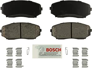 Bosch BE1258H Blue Disc Brake Pad Set with Hardware For: Ford Edge; Lincoln MKX; Mazda CX-7, CX-9, Front