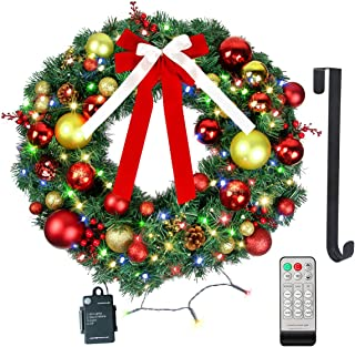 Best lighted xmas wreaths Reviews
