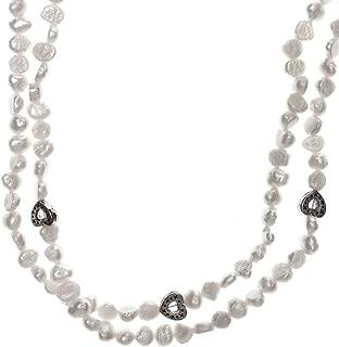 Collar Perlas Color Blanco