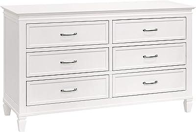Million Dollar Baby Darlington 6-Drawer Dresser in Warm White