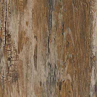 "d-c-fix 346-0478-2PK Decorative Self-Adhesive Film, Rustic Wood, 17"" x 78"" Roll, 2-Pack"
