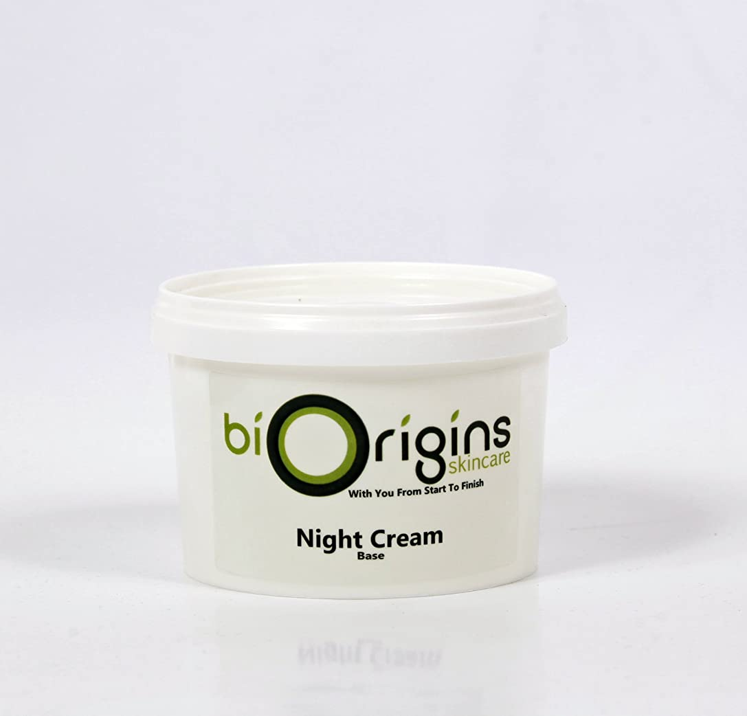 うんざり笑い七面鳥Night Cream - Botanical Skincare Base - 500g