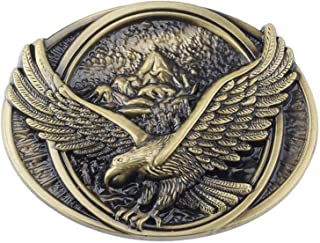 Eagle Western Cowboy Belt Buckle