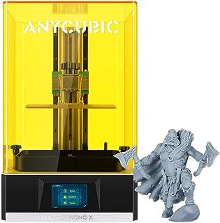 ANYCUBIC Impresora 3D Photon Mono X, impresora UV LCD de resina con pantalla monocromática y 4K 3X Impresión rápida, aplic...